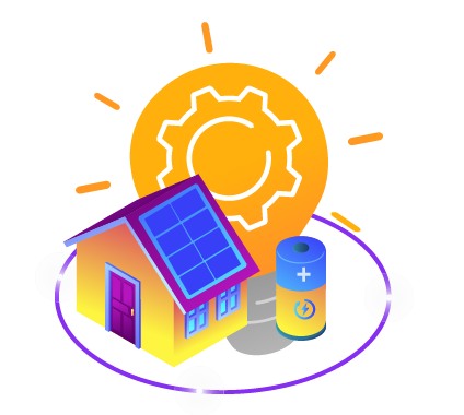 Home Solar With Battery in Blackout