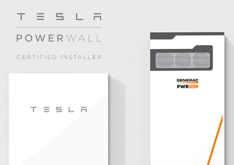 Generac PWRcell and Tesla Powerwall